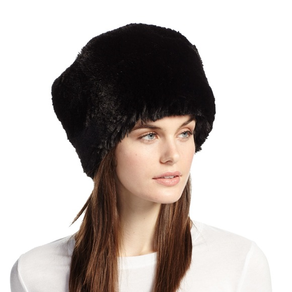 New Faux Fur Russian Hat One Size Adult Black 93e83b48b9f